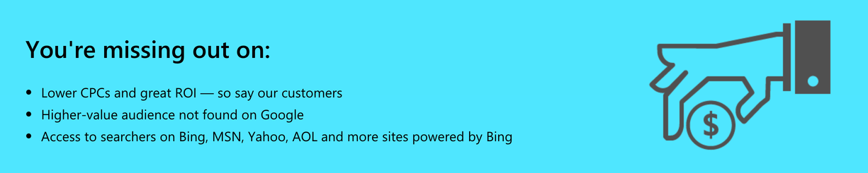 Benefits Of Bing Ads