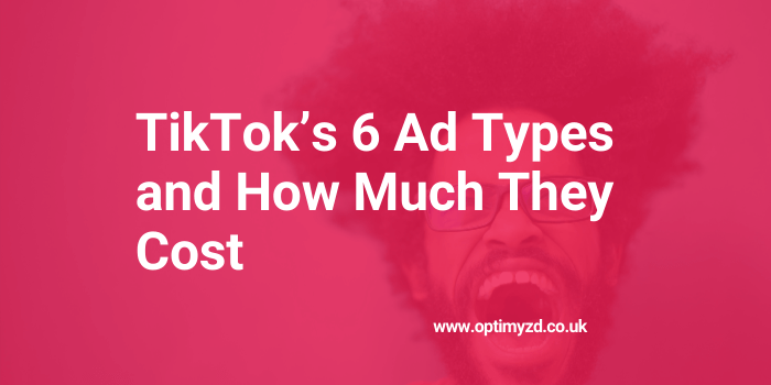 TikTok Ad Types Header